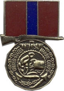 Marine Good Conduct Mini Medal Small Pin