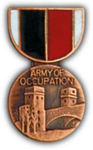 Army of Occupation Mini Medal Small Pin