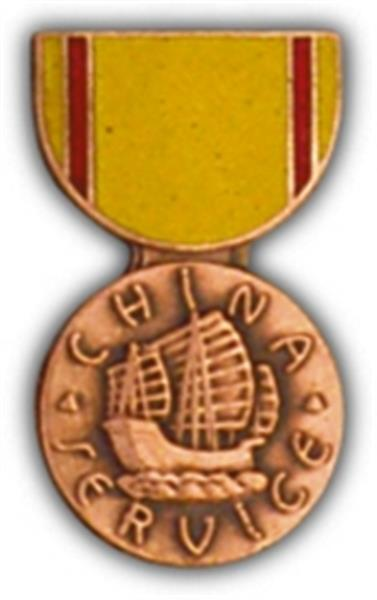 China Service Mini Medal Small Pin