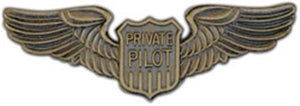 Private Pilot Large Pin