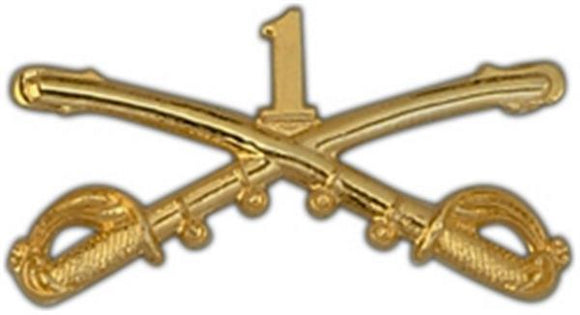 1st Cavalry Large Pin
