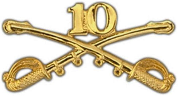 10th Cavalry Large Pin