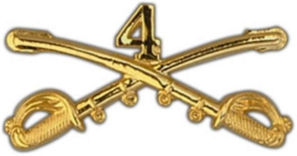 4th Cavalry Large Pin