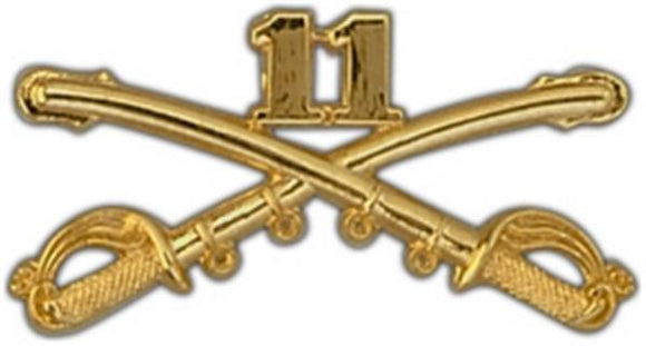 11th Cavalry Large Pin