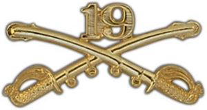 19th Cavalry Large Pin