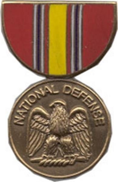 National Defense Mini Medal Small Pin