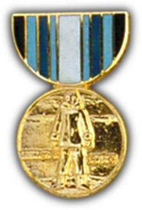 Antarctic Service Mini Medal Small Pin
