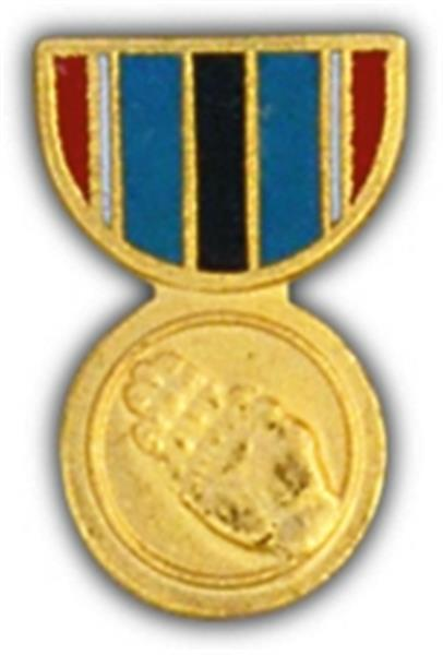 Humanitarian Service Mini Medal Small Pin