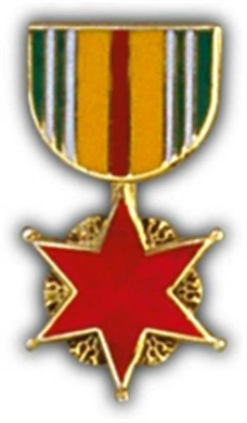 Vietnam Wound Mini Medal Small Pin