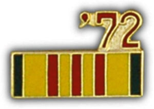72 Vietnam Ribbon Small Pin