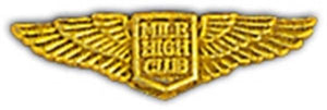 Mile High Club Small Hat Pin
