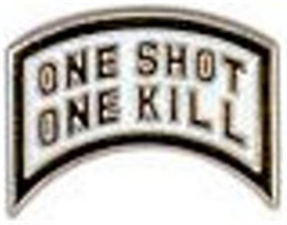 One Shot One Kill Small Pin