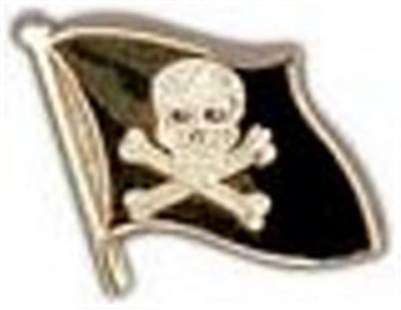 Skull Flag Small Pin