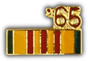 65 Vietnam Ribbon Small Pin