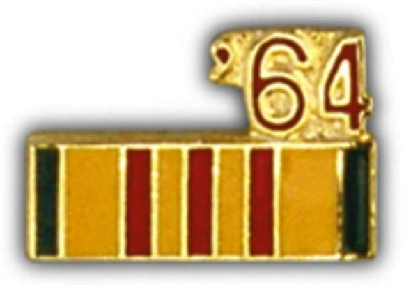 64 Vietnam Ribbon Small Pin