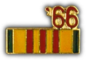 66 Vietnam Ribbon Small Pin
