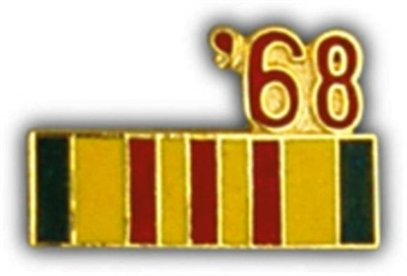 68 Vietnam Ribbon Small Pin