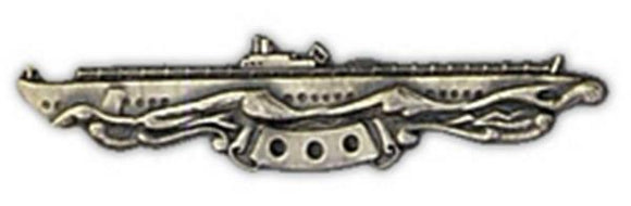 Submarine Combat Large Pin