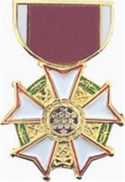 LG of Merit Mini Medal Small Pin