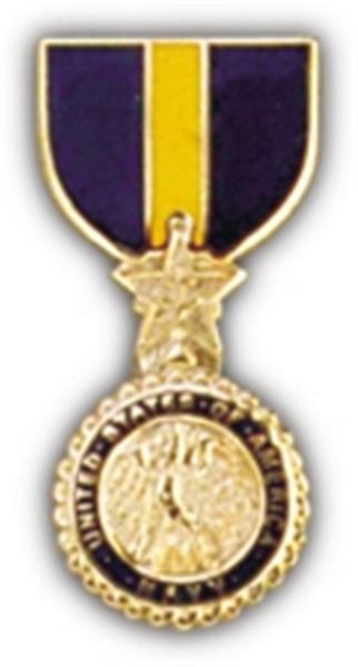 USN MC DSM Mini Medal Small Pin