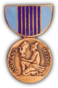 Airmans Medal Mini Medal Small Pin