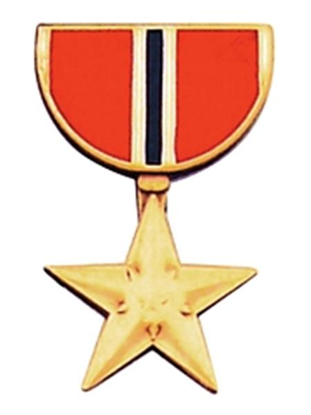 Bronze Star Mini Medal Small Pin
