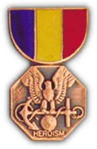 Naval & Marine Corps Mini Medal Small Pin