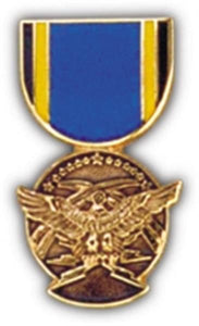 Aerial Achievement Mini Medal Small Pin