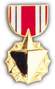 AF Combat Readiness Mini Medal Small Pin