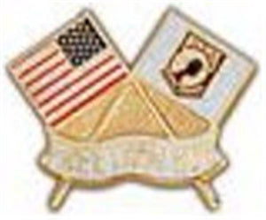 USA-POW Flag Small Pin