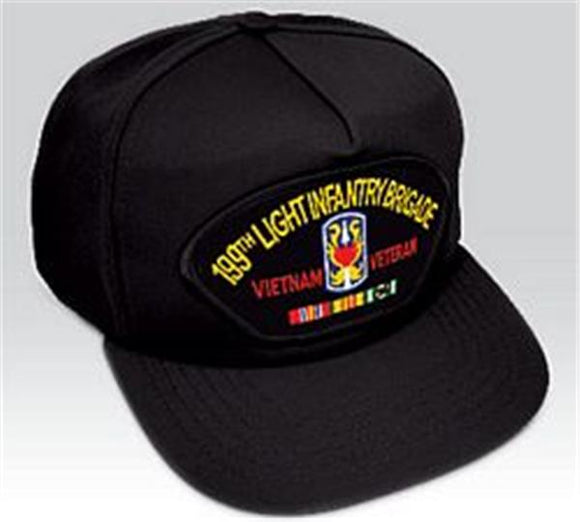 199th Light Infantry Brigade Vietnam Veteran Ball Cap