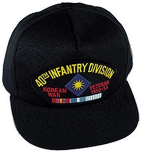 40th Infantry Division Korea Ball Cap