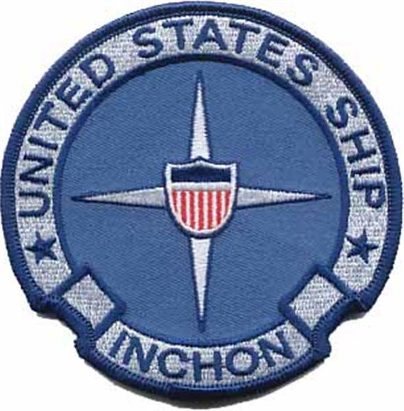 USS Inchon USMC Patch