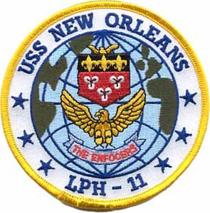 USS New Orleans USMC Patch