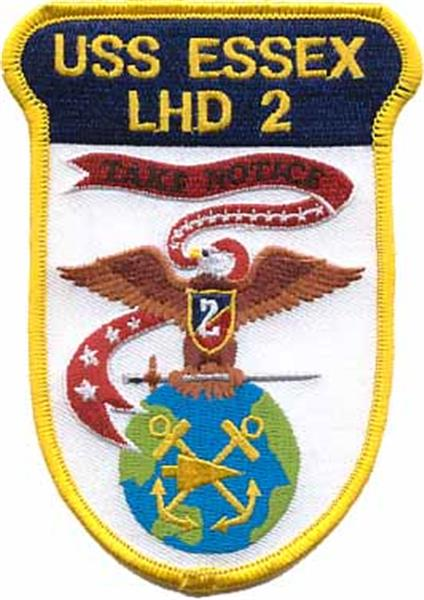 USS Essex USMC Patch