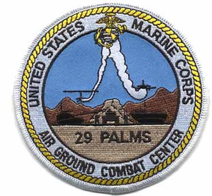 USMC 29 PALMS USMC Patch