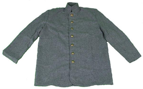 Kid's Civil War Grey Confederate Sack Coat