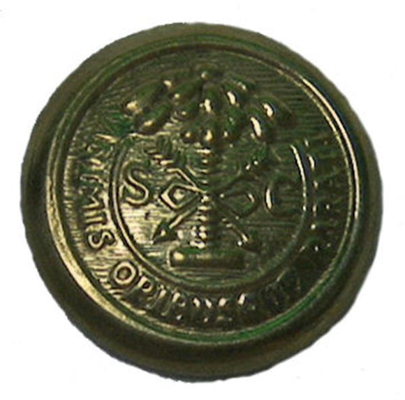 Civil War Confederate Brass Uniform Button - South Carolina