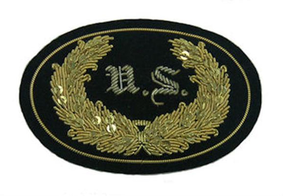 Civil War Embroidered Hat Insignia - U.S. Staff Officer - SMALL