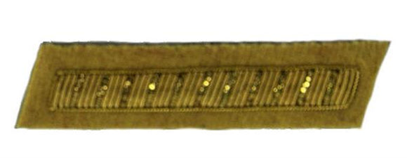 Civil War Confederate Officer's Collar Rank - CAVALRY