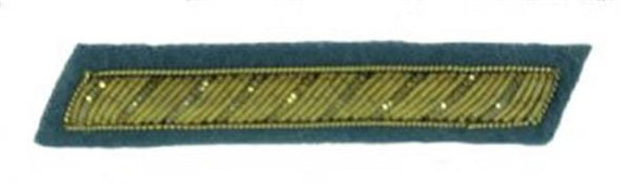 Civil War Confederate Officer's Collar Rank - INFANTRY