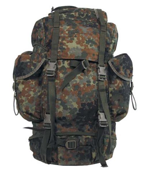 Genuine Surplus German Army Backpack - Flecktarn Camo