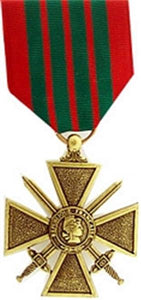 WWII French Croix de Guerre Medal