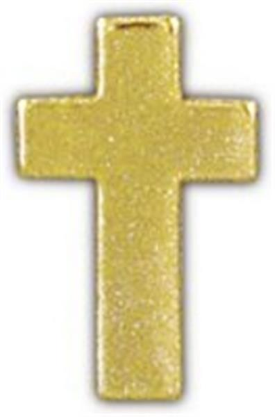 Chaplain's Cross Gold Small Pin Gold