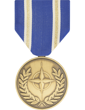 NATO Medal Article 5 Ribbon Medal
