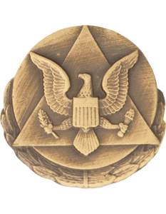 Army Outstanding Civilian Service Award Lapel Pin