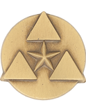 Army Commander's Award For Civilian Service Lapel Pin