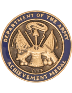 Army Achievement Medal For Civilian Service Lapel Pin