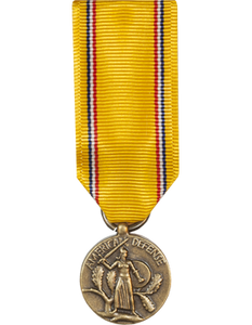 American Defense Mini Medal