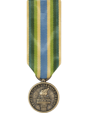 Armed Forces Service Medal Mini Medal